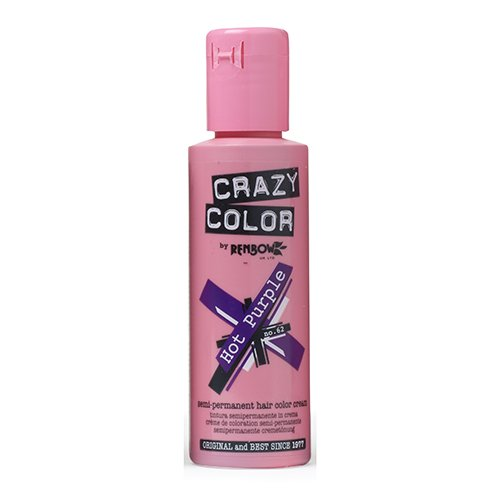 Crazy Color by Renbow 62 Hot Purple 100 ml