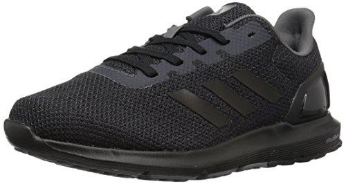 adidas mens Cosmic 2 Running Shoe, Black/Black/Grey Five, 14 US