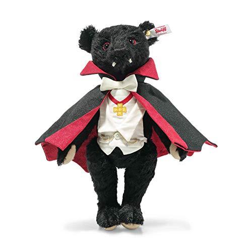 Steiff 355462 Teddybär Dracula Vampir 28 cm stehend schwarz rot mit Umhang limitiert auf 1.500 Stück Universal Filmstudios Kuscheltier Plüschtier Sammler