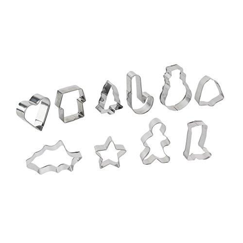 Dites le avec des Motts KS9284 uitsteekvormen hart, met doos, roestvrij staal/metaal, rood/grijs, 13,70 x 13,70 x 6,20 cm, willekeurige kleurkeuze