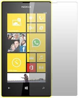 "2 x Slabo displayskyddsfolie Nokia Lumia 520 skärmskydd skyddsfolie ""Crystal Clear"" osynlig MADE IN TYSKLAND"