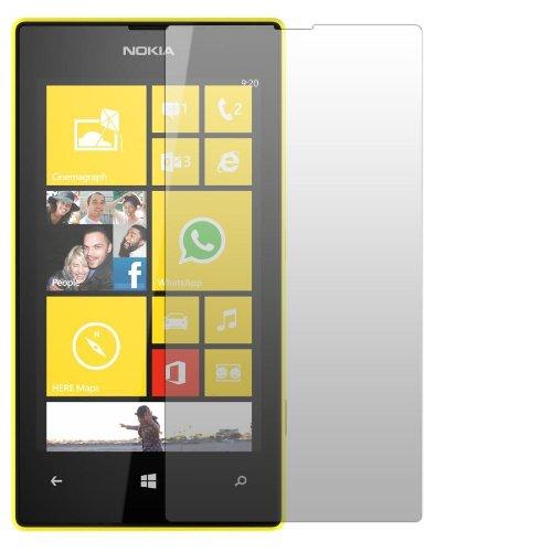 2 x Slabo Displayschutzfolie Nokia Lumia 520 Displayschutz Schutzfolie