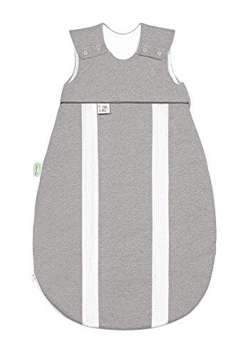 Odenwälder Jersey-Schlafsack primaklima Melange Silber, Größe in cm:110 cm