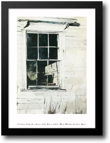 San Diego Mall West Window 17x21 Recommendation Framed Art Print Wyeth by Andrew