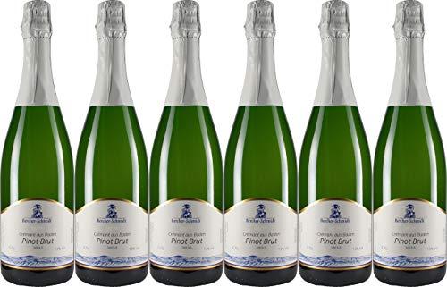 Bercher-Schmidt Crémant Pinot 2018 Brut (herb) (6 x 0.75 l)
