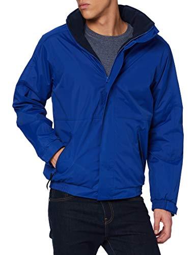 Regatta Blouson aviateur Homme imperméable doublé Polaire avec Capuche dissimulée Dover Jackets Waterproof Insulated, New Royal, FR (Taille Fabricant : 4XL)