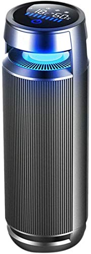 YYhkeby Depuratore d'Aria Auto desolente ionico Deodorante Air Negative Filter USB Ricarica Sensore a infrarossi Air Cleaner 12 V per L'Ufficio per Auto Jialele