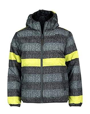 Arctix Boys Super Nova Reversible Insulated Winter Jacket, Chambray Citronelle, Medium