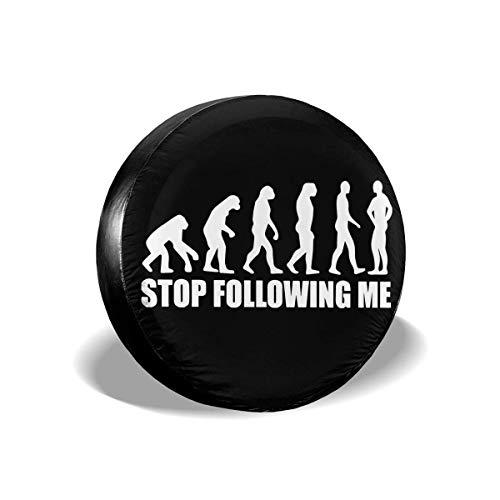 WCHAO Hör auf, Mir zu Folgen Evolution Ersatzreifenabdeckungen Universal Fit