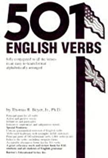 501 English Verbs (501 Verbs Series)
