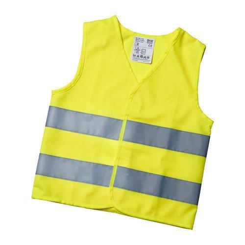 IKEA PATRULL Kinder-Warnweste (7-12 Jahre), Gelb (Europanorm EN 1150)