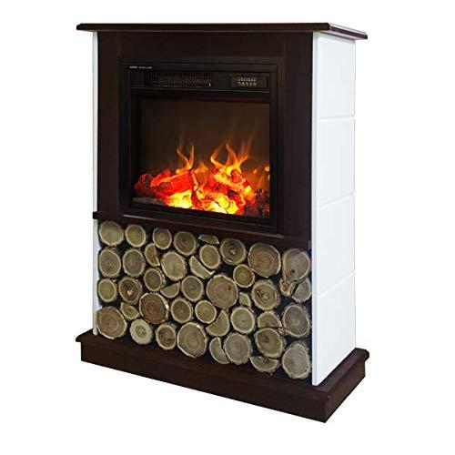 Art Flame, Chimenea eléctrica Andreea y Dionis, Calefacción de superficie 15 m², Control Remoto