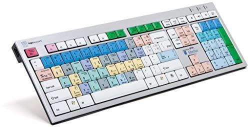 LogicKeyboard LKB-SIB-AJPU-UK Tastatur, Avid Sibelius ENGL. (PC/Slim) Weiß/Bunt