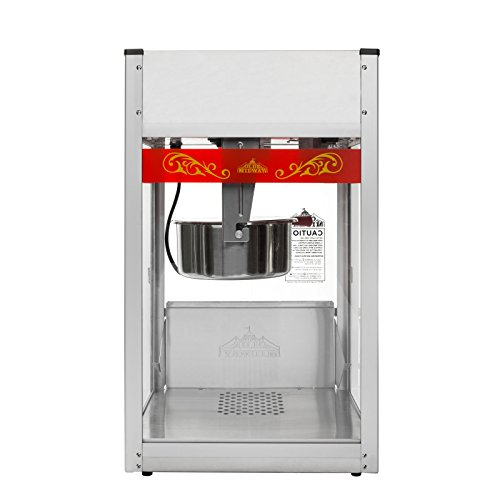 Product Image 7: Olde Midway Commercial Popcorn Machine Maker Popper with Large 12-Ounce Kettle – Red