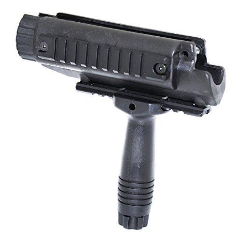 Airsoft Softair Ersatzteile CYMA MP5 Schiene Handschutz Handguard & Griff mit Außenfass Outer Barrel Schwarz