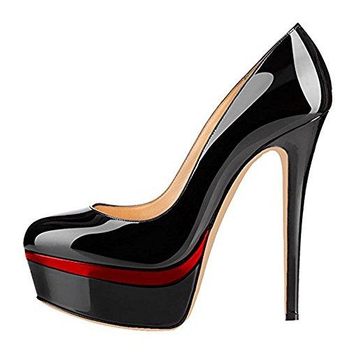 Yolkomo Women's Platform Pumps Heels Super High...