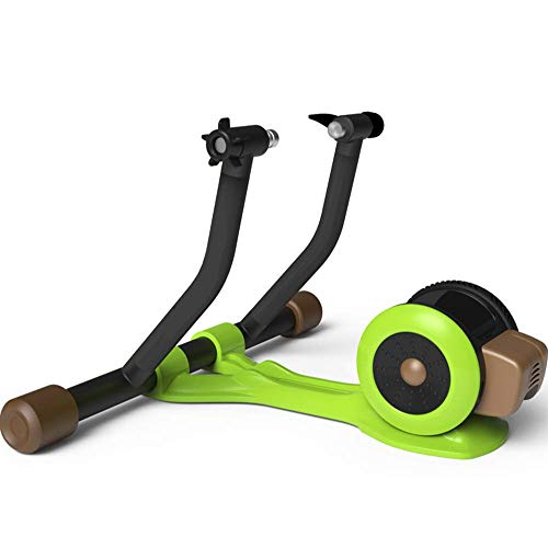 WAWZNN Soporte Inteligente para Bicicleta, Plataforma De Entrenamiento De Bicicleta Silenciosa De Interior, Adecuado para Bicicleta De Montaña De Carretera De 26-29 Pulgadas, Bicicleta 700C