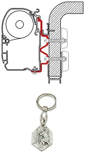 Zisa-Kombi Adapter F1/F45i/F45iL Hymer Camp 4m (93298843336) mit Anhänger Hlg. Christophorus