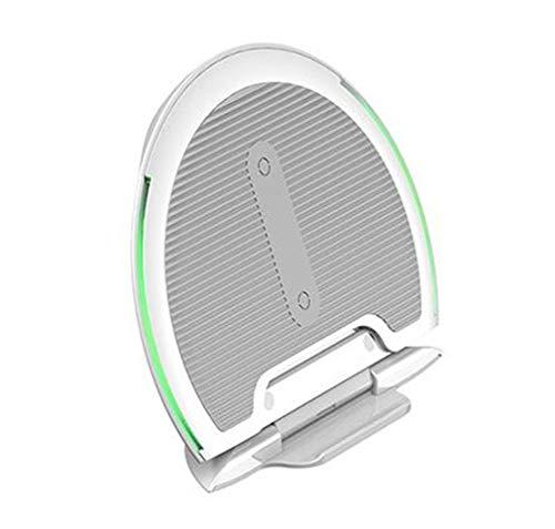LALAWO mobiele telefoonhouder met zwaartekrachtdetectie, draadloos opladen met drie functies, opvouwbaar voor iPhone X / 8, Samsung S9 / S9 +, oplader