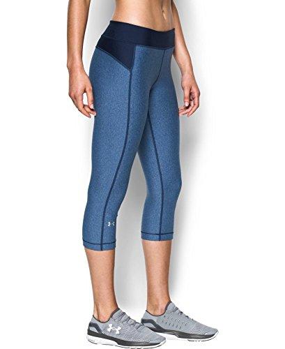 Under Armour Damen Fitness Hose UA HG Armour Capri Hosen & Shorts, Heron, S