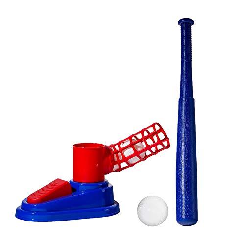 Kinder-Baseballtrainer-Set , Kinder-Baseballball-Set - Faltbares Einziehbares Ballspielzeug