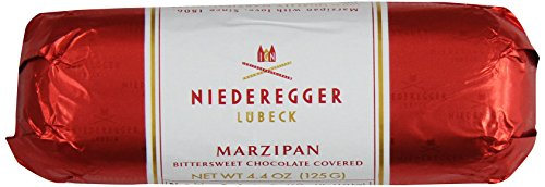 Niederegger Chocolate Covered Marzipan Loaf, 4.4-Ounce (Pack of 5)