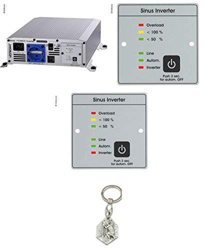 Zisa-Kombi Votronic Inverter SMI 1200 NVS (93298882200) mit Anhänger Hlg. Christophorus