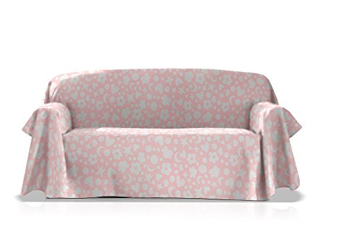 Agatha Ruiz de la Prada Überwurf Universal Fantasy, Größe 235x270, Farbe Rosa