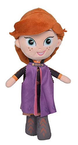 Simba Friends Peluche Muñeca Anna 25cm Frozen 2, Multicolor