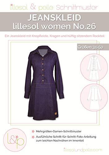 Lillesol & Pelle Schnittmuster women No26 Jeanskleid Papierschnittmuster