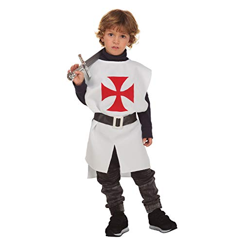 Viving Costumes Disfraz Peto Medieval Blanco 3-6 (203789)