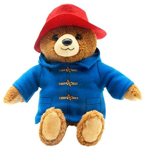 Teddys Rothenburg Kuscheltier Paddington Bär braun/blau/rot 26 cm Plüschbär