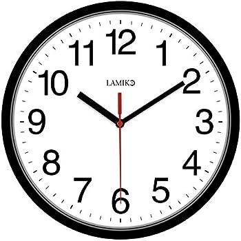 LAMIKO Non-Ticking Silent 10
