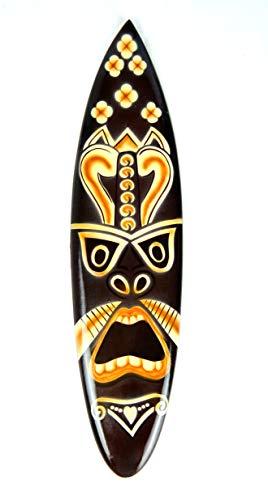 Asia Design - Tabla de surf en miniatura (30 cm, madera, con soporte de madera)