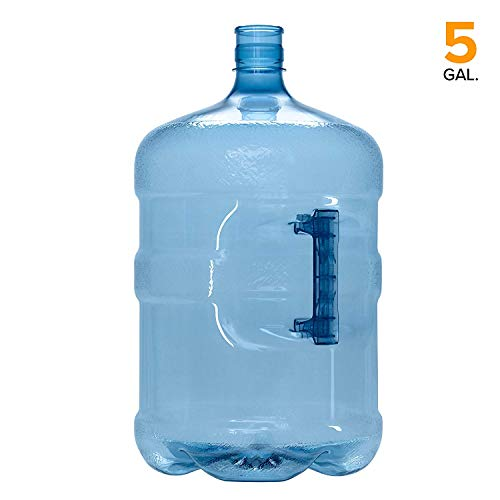 5 Gallon BPA Free PET Plastic Crown Cap Water Bottle Container Jug