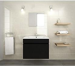 Amazon Fr Ensemble Meuble Vasque Miroir Salle Bain