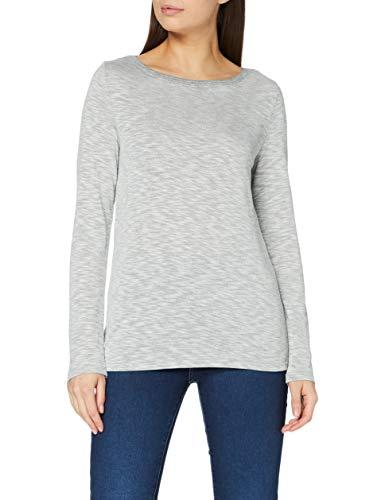ESPRIT 090EE1K307 T-Shirt, 044/grigio Chiaro 5, XXL Donna