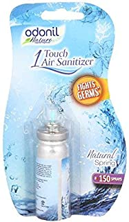 Odonil 1 Touch Air Sanitizer Natural Spring Combo - 7.8 g