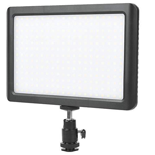 Dimbaar LED-licht, CRI90 + 3200-5600K Verstelbare LED-videolamp, Videolamp Camera-invullichten met platform, On-Camera Lights voor foto