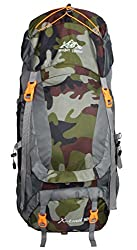 Mount Track X-Trail 9109 Hiking Rucksack 90 Ltrs with Rain Cover (Camouflage),MOUNT TRACK