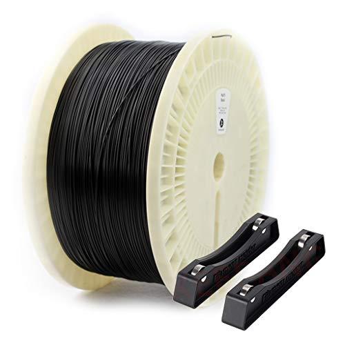 Hello Impression 3D Filament Pla Filament Convient for imprimante 3D et Stylo 3D, avec 3D Imprimé Support Filament (Color : Black, Size : 3kg)