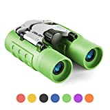 Binoculars for Kids Best Gifts for 3-12 Years Boys Girls 8x21 High-Resolution Real