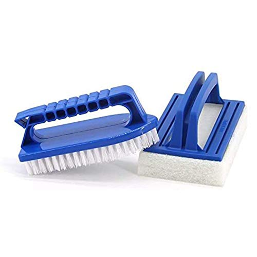 Il kit di pulizia per vasca idromassaggio Lifreer include spazzola per strofinare, spazzola per piscina per spa e pulizia vasca idromassaggio