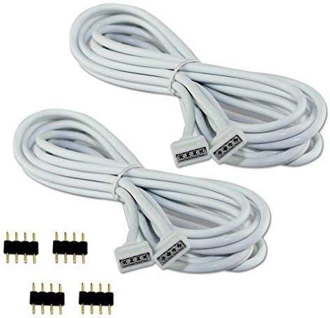 2632 opinioni per COOLWEST 2M Cavo di Estensioni 4 Pin Striscie LED Strip per RGB SMD 5050 3528