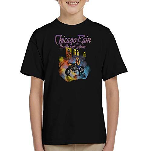Cloud City 7 Chicargo Rain Biker Mice from Mars Kid's T-Shirt