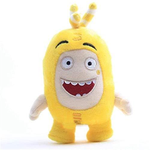 Plüschtiere Kawaii Oddbods Plüsch Spielzeug süße Cartoon Sicherung Blasen Newt Slick Jeff Bubbles gefüllte Puppe Spielzeug weiche Kissen Kinder Geschenke Kuscheltier Yellow