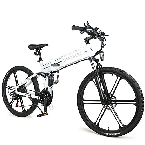 LO26-LI E-Bike Bicicleta De MontañA De 26 Pulgadas,500W EléCtrica Asistencia De Pedal...