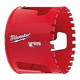 Milwaukee 45242337835 Diamond Plus Forages/Trépans à Eau/à Sec, Rouge