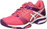 ASICS Gel-Blast 7, Chaussures de Handball américain Femme, Multicolore (Rouge Red/White/Prune), 37.5 EU