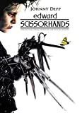 linbindeshoop Edward Scissorhands película Johnny Depp Tim Burton Cartel de Pared Arte decoración Pegatina Brillante(LY-172) 40x60cm Sin Marco